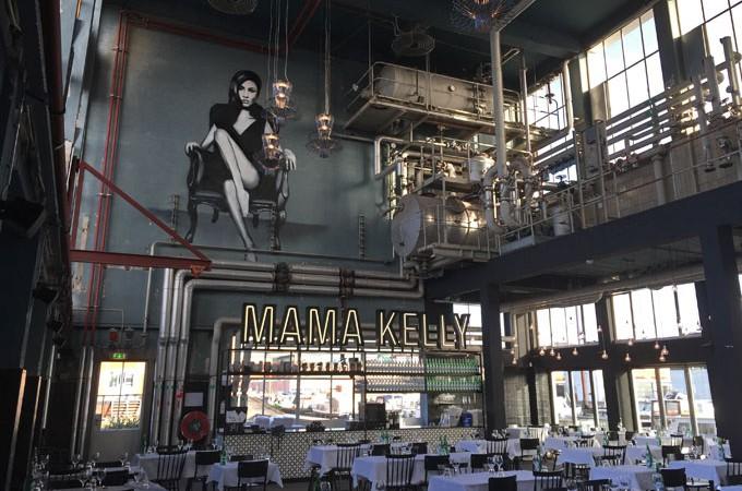 MaMa Kelly: lunchen in een oude fabriek!
