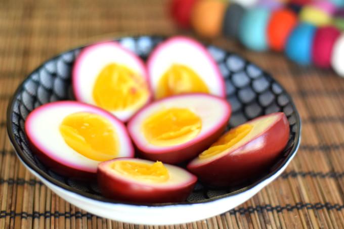 Roze eieren - Anniepannie.nl