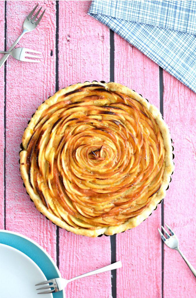 Franse appeltaart in de vorm van een roos 2 - Anniepannie.nl
