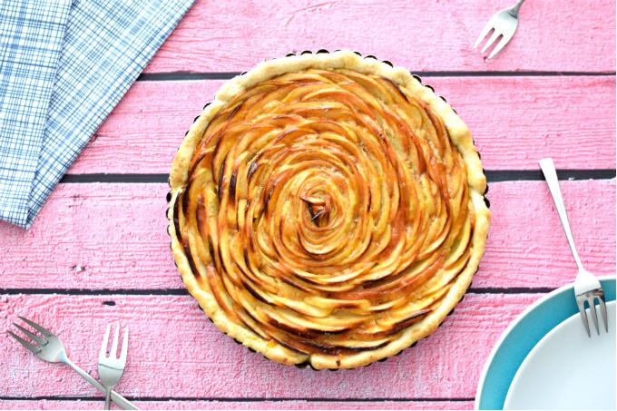 Taart recepten - Franse appeltaart - Anniepannie.nl
