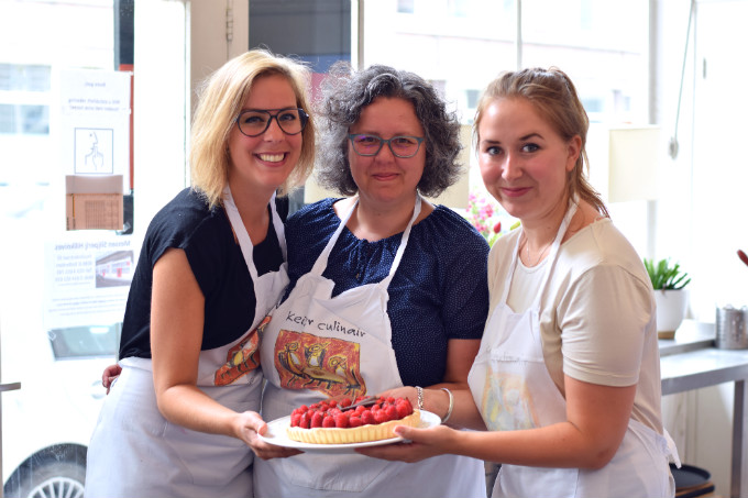 Team met taart - Anniepannie
