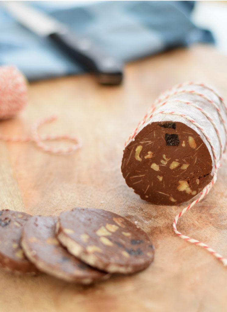 chocolade salami 1 - Anniepannie