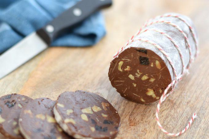 chocolade salami - Anniepannie