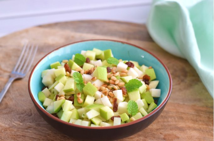 koolrabi salade - Anniepannie.nl