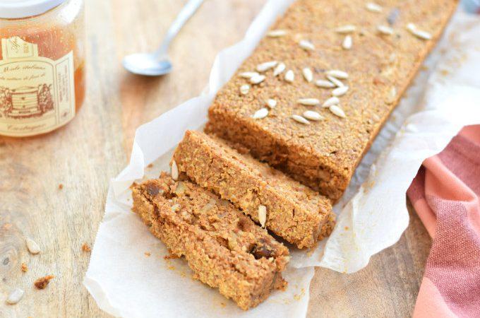 pompoenbrood met amandelmeel - Anniepannie.nl