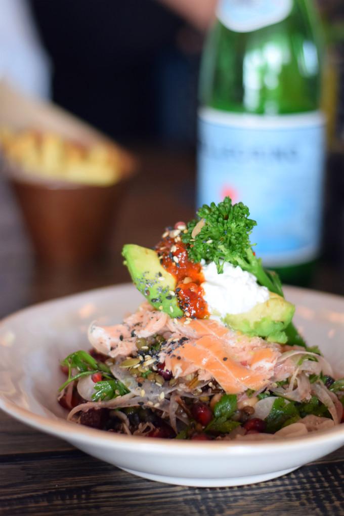 Jamies Italian Den Haag superfood salade - Anniepannie.nl