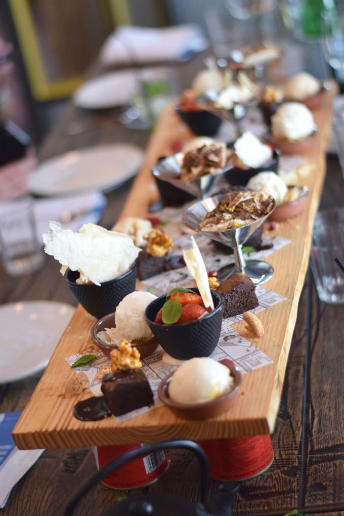 jamies italian den haag dessert - Anniepannie.nl