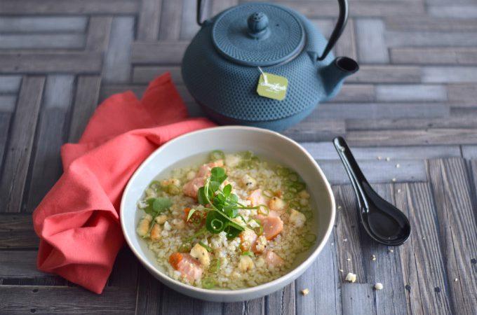 Japanse rijstsoep met groene thee - Anniepannie.nl