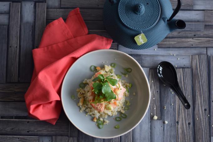 Japanse rijstsoep met thee - Anniepannie.nl