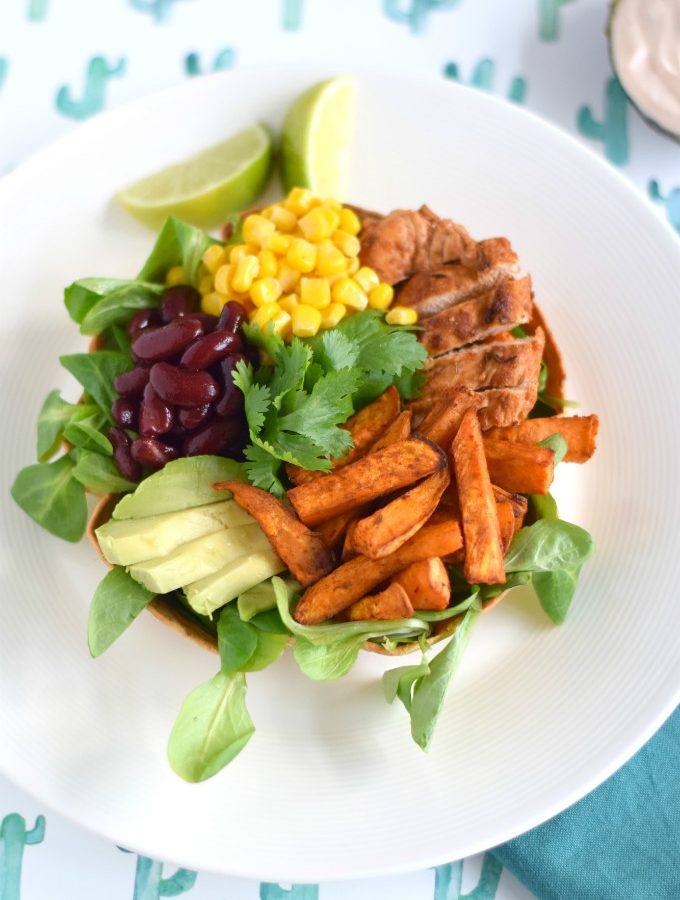 Mexicaanse salade bowl - Anniepannie.nl