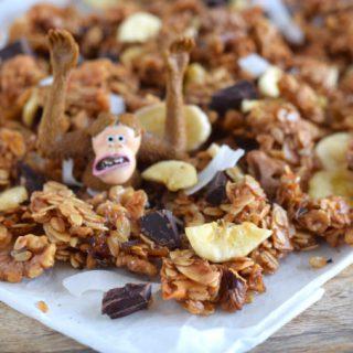 Chunky Monkey Granola - Anniepannie.nl