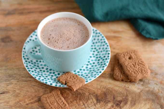 Chocolademelk van cacaopoeder en havermelk - Anniepannie.nl