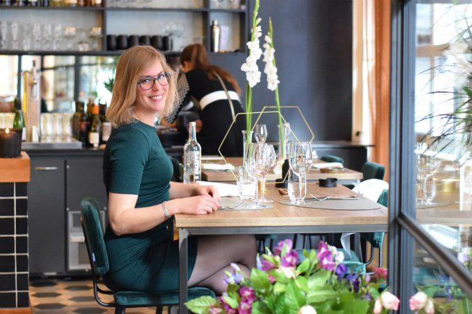 Andrea aan chefs table 6&24