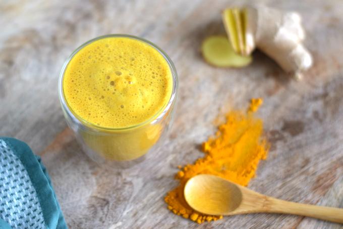 kurkuma latte golden milk - anniepannie