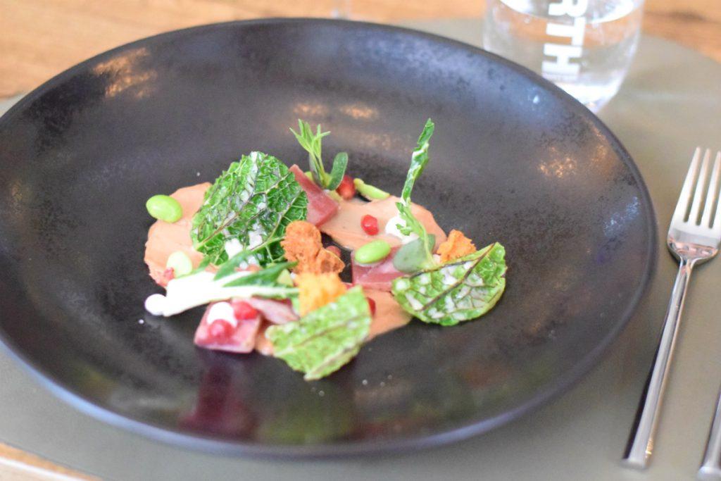 tonijn en ganzenlever restaurant 6&24 - anniepannie
