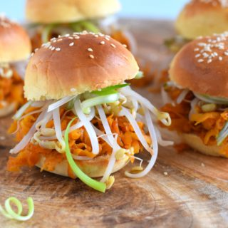 Pulled carrot met hoisin en tauge - Anniepannie