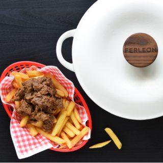 Vlaams stoofvlees met friet - Anniepannie.nl