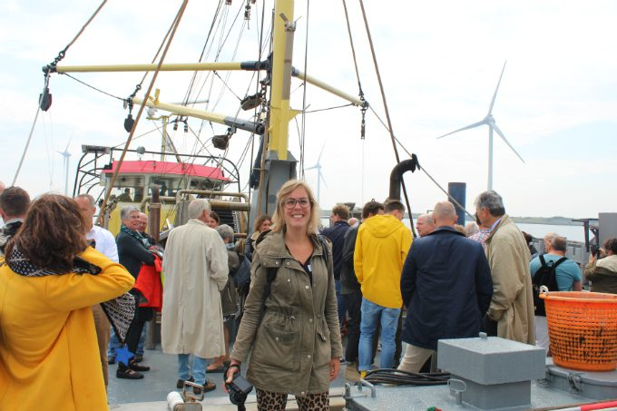 Mosselen oogsten in Zeeland - boot - Anniepannie