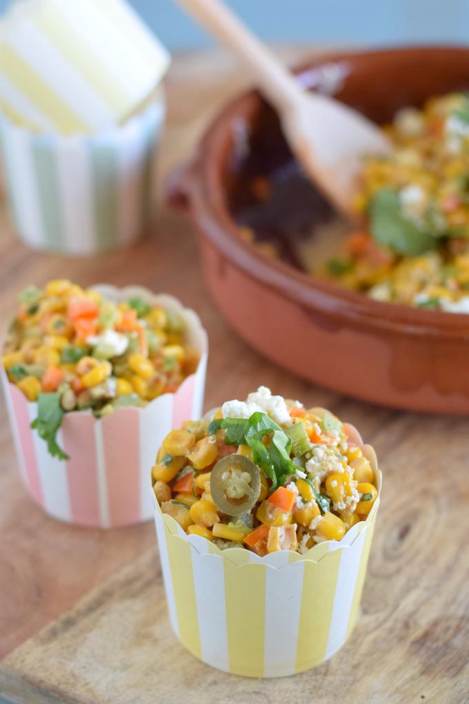 Mexicaanse maissalade - Anniepannie