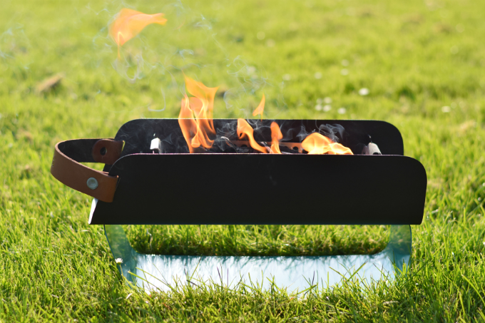 una grill review - aansteken - Anniepannie