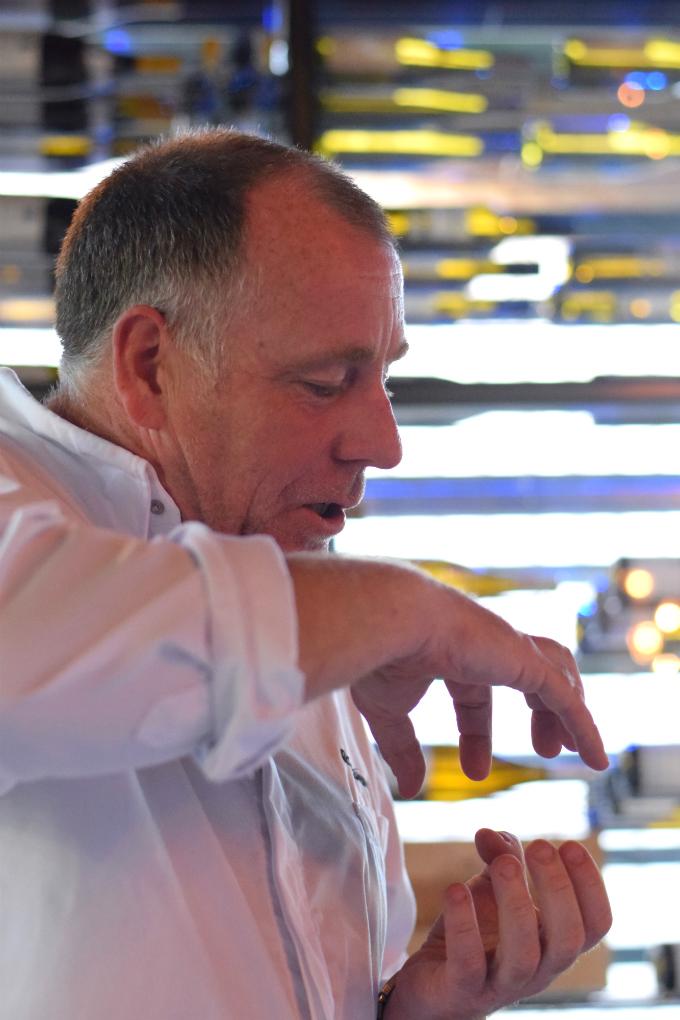 Restaurant Hofstede Meerzigt Ron Blaauw aan tafel - Anniepannie