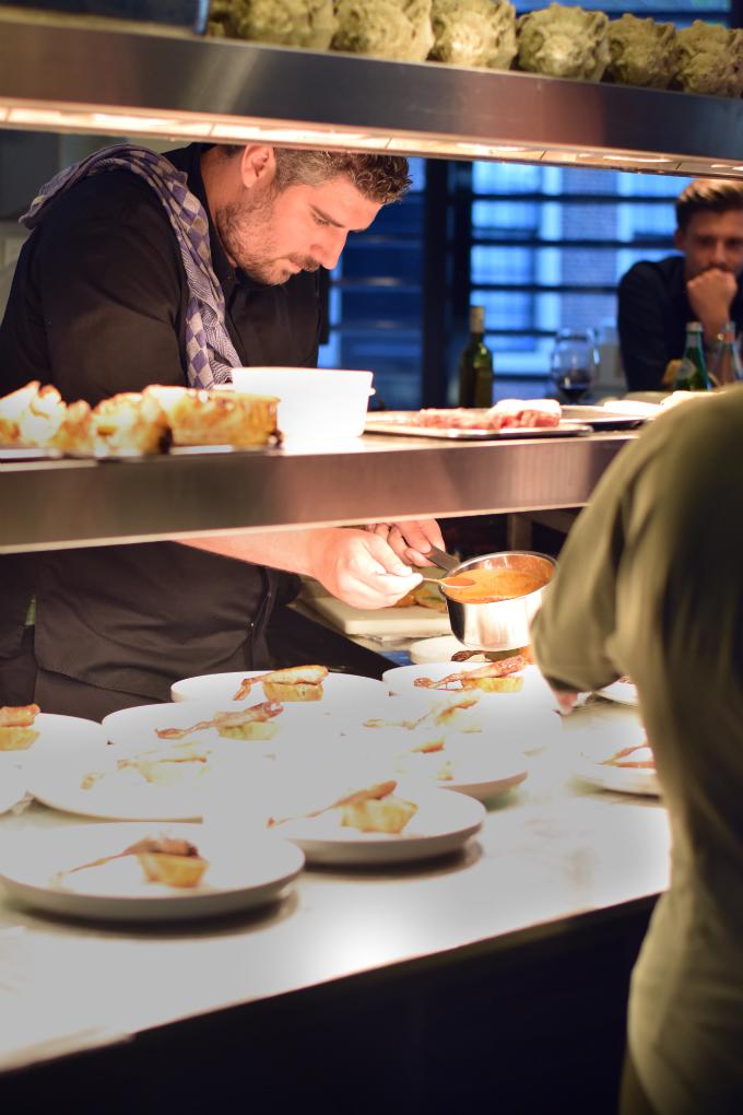 Restaurant Hofstede Meerzigt keuken - Anniepannie