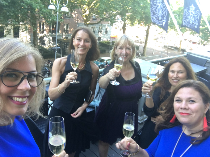 grand blogger dinner 2018 balkon amstelhotel - Anniepannie