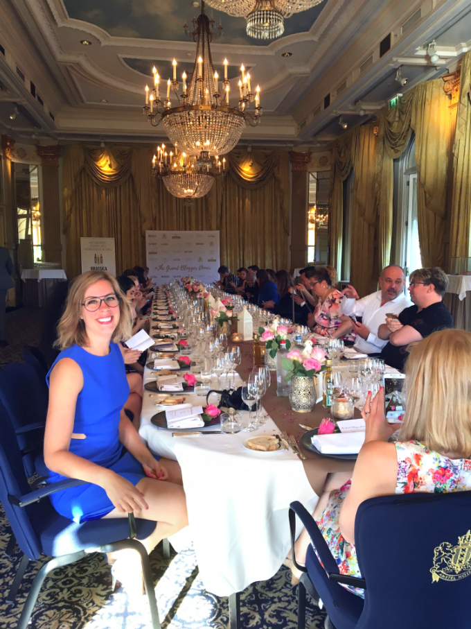 grand blogger dinner 2018 spiegelzaal - Anniepannie
