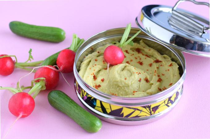 Avocado hummus met limoen - Anniepannie