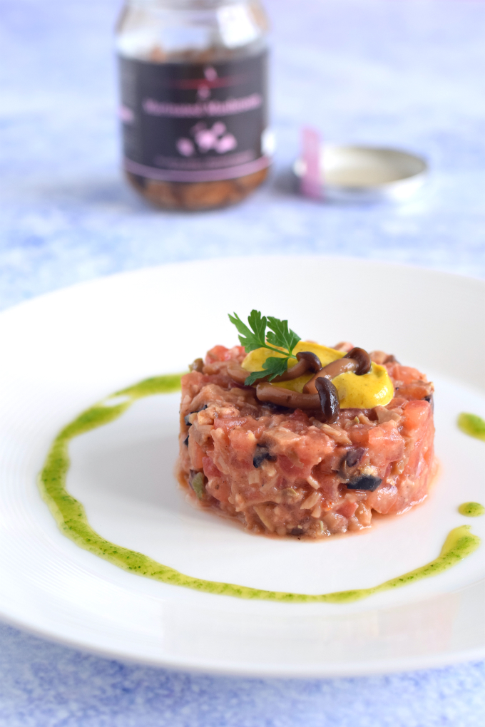 vegan steak tartare - anniepannie
