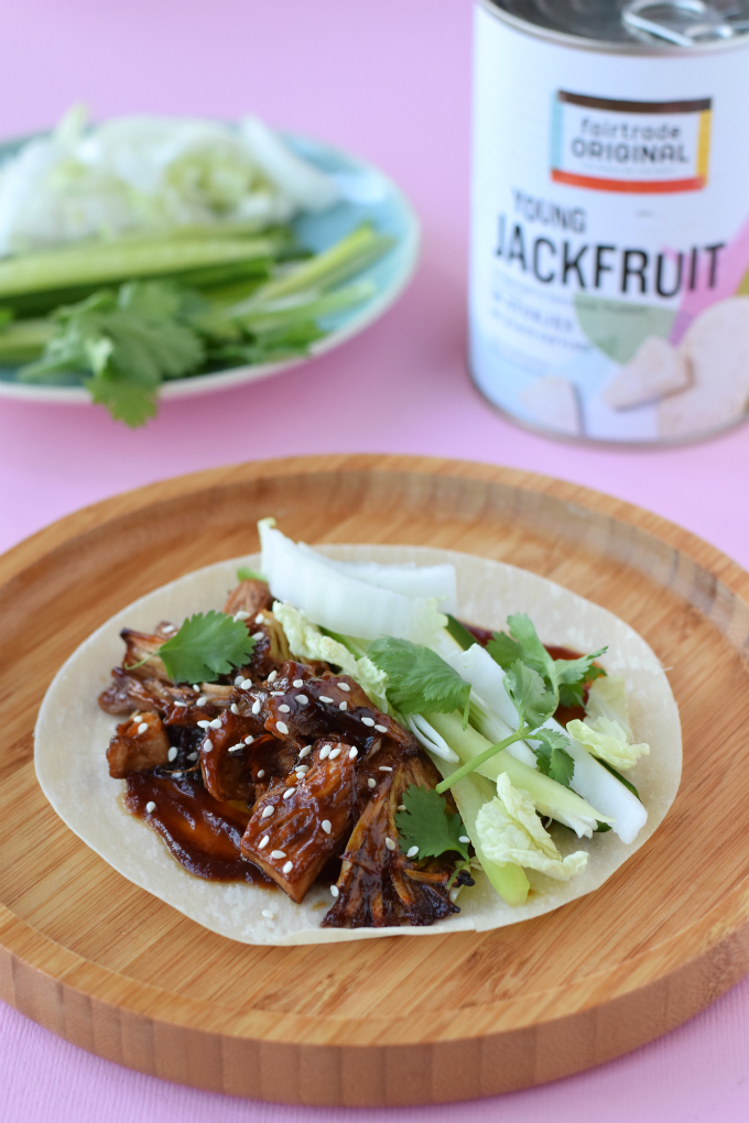 jackfruit - vegan - pannenkoek - recept