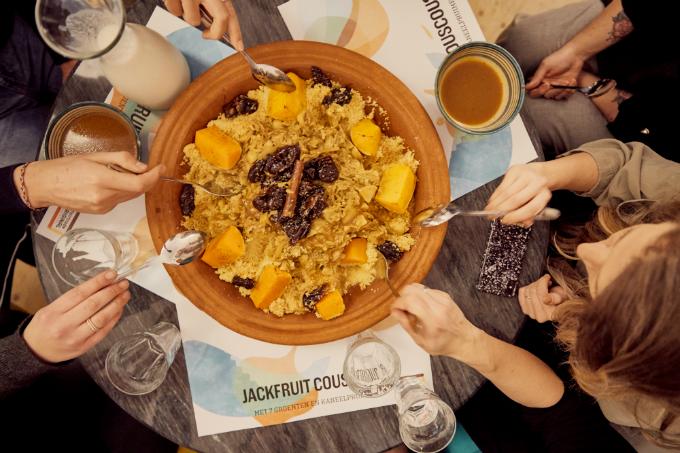 Jackfruit gerechten - jackfruit couscous - fotografie Mitchell van Voorbergen