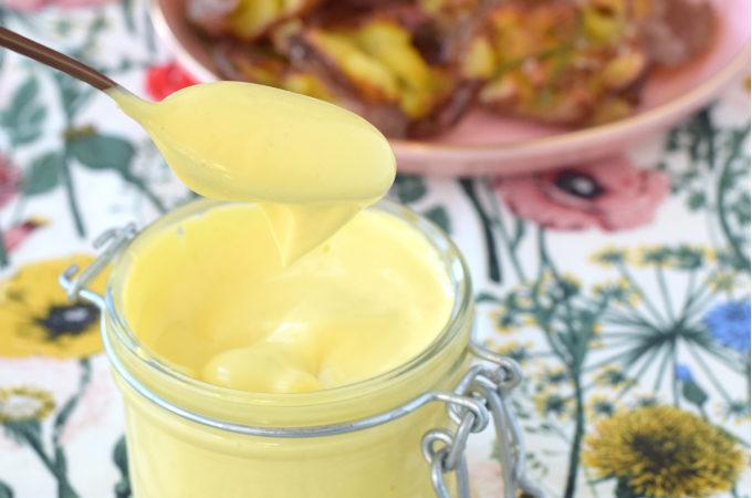 Mayonaise van koolzaadolie - Anniepannie