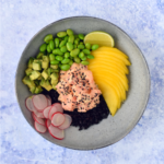 Poke bowl met zalm thumbnail - Anniepannie