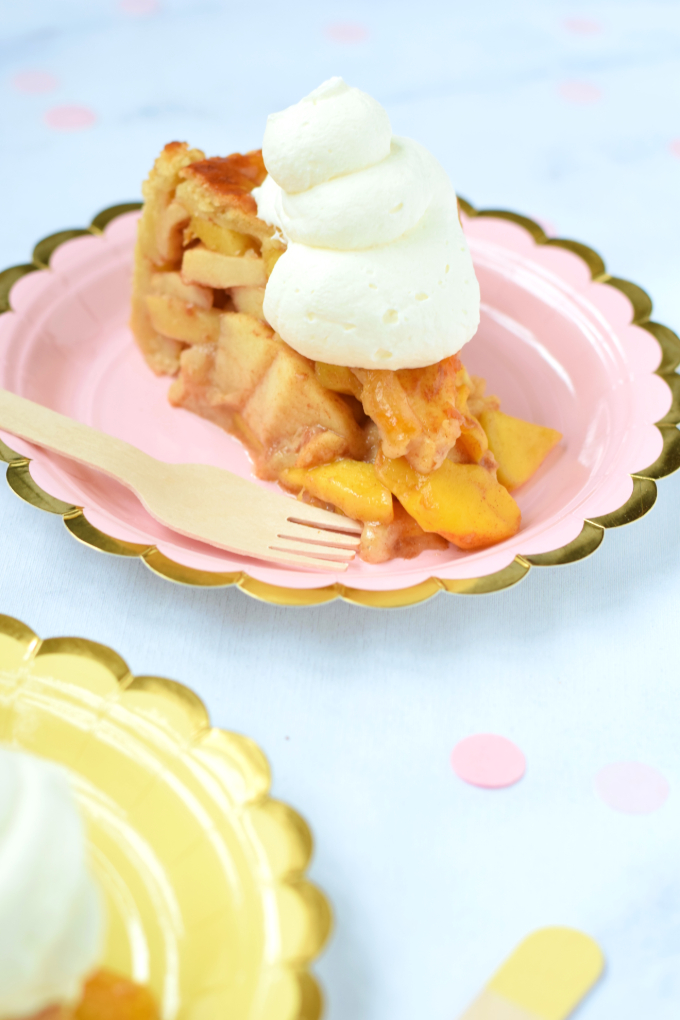 Mango appeltaart met kaneel en kardemom - Anniepannie