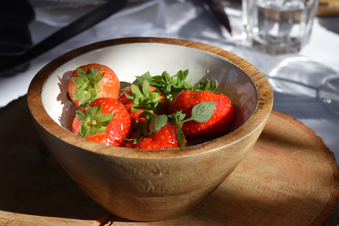 Barbecue Masterclass Intratuin - aardbeien met kruiden