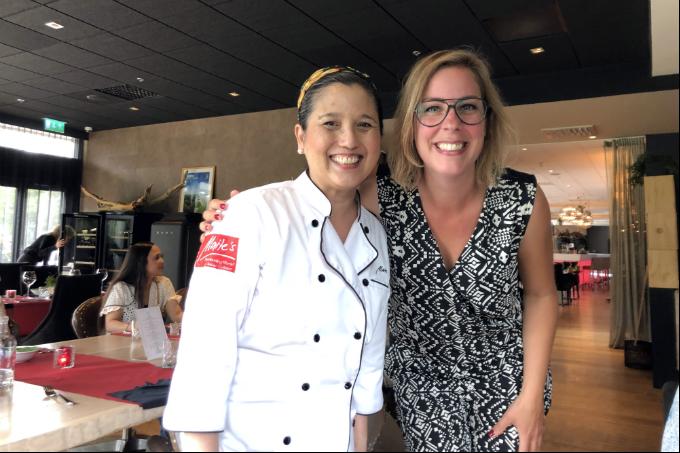Filipijns eten in Den Haag - chef Maite en Andrea