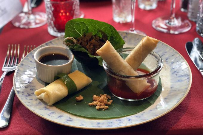 Filipijns eten in Den Haag - voorgerecht