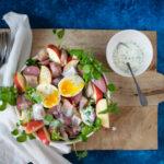 Salade met waterkers en haring ANNIEPANNIE-1