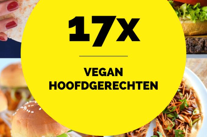 17 Vegan Hoofdgerechten - Plantaardige maaltijden waar je blij van wordt! - ANNIEPANNIE