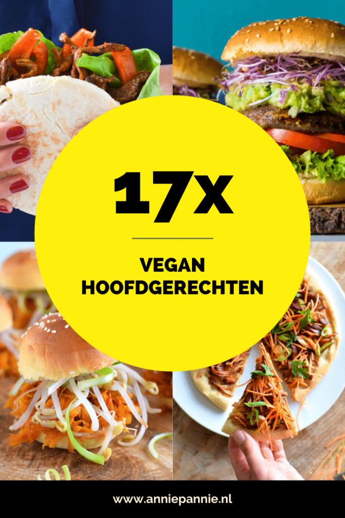 Vegan hoofdgerechten - Anniepannie.nl