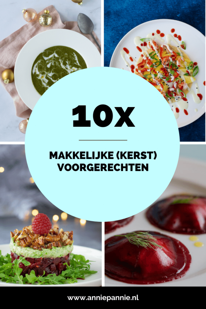Makkelijke Kerst voorgerechten - 10 recepten | Anniepannie.nl