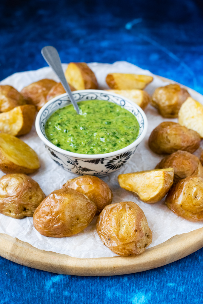 Ovenaardappels met salsa verde - ANNIEPANNIE