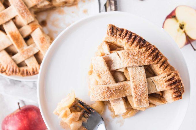 Vegan appeltaart - Anniepannie.nl