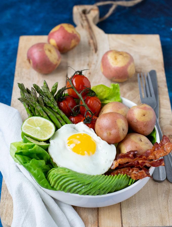 Ontbijt als avondeten bowl