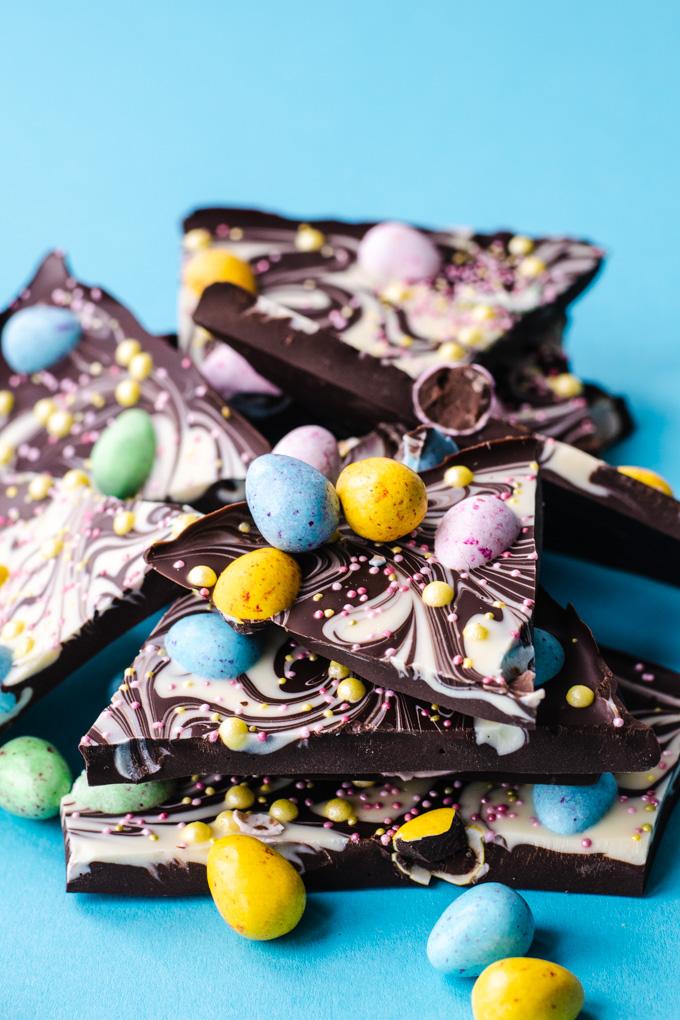paas chocolade bark