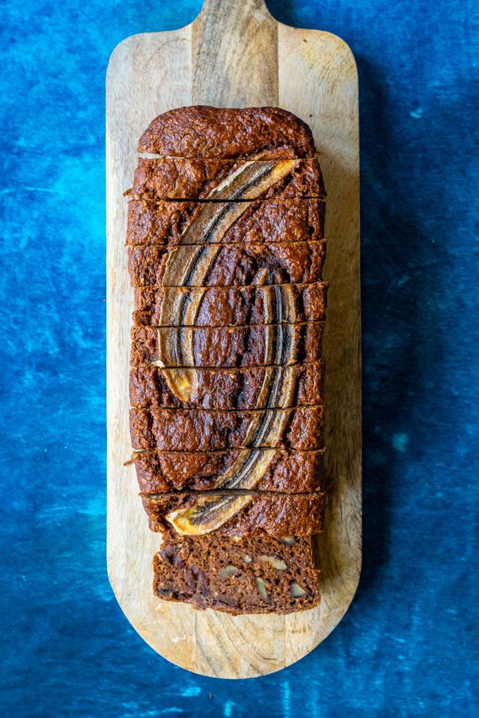 volkoren bananenbrood met dadels en walnoten-2