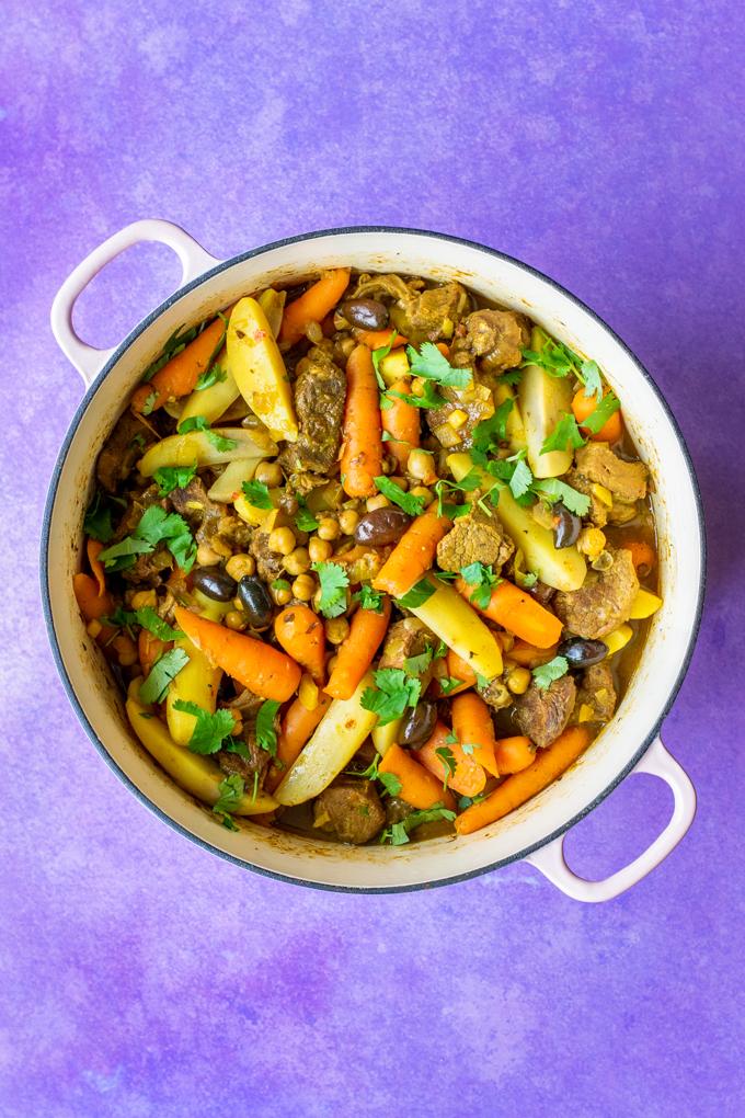Tajine met rundvlees en wortel - ANNIEPANNIE
